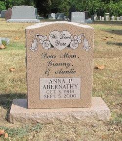 Anna P Abernathy