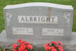 Harry K Albright