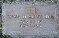 Mrs Emma Reid <I>Dulin</I> Alexander