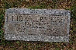 Thelma Frances <I>Furman</I> Jackson
