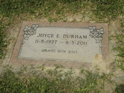 Joyce Esthese <I>Jones</I> Durham