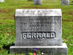 Mrs Amanda <I>Hammond</I> Fernald