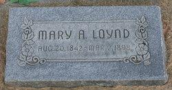 Mary Ann <I>Hollingdrake</I> Loynd