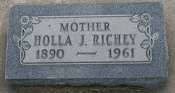 Holla J <I>Taylor</I> Richey