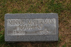 Minnie M. <I>Floyd</I> Furman/Matheny