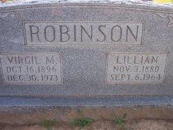 Lillian Pearl <I>Tate VanConia</I> Robinson