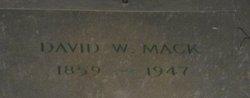 David Wilmot Mack