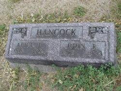 Alice Jane <I>Estes</I> Hancock