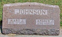 """Mary Jane """"Mollie"""" <I>Cavett</I> Johnson"""