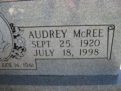 Audrey <I>McRee</I> Baucom