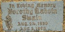 Dorothy <I>Raboin</I> Swain