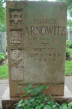 Gertrude Arnowitz