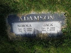 Norma <I>Hicken</I> Adamson