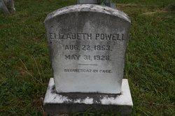 """Elizabeth Graves """"Lizzie"""" <I>Brockman</I> Powell"""