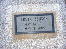 Ervin Edwin Benson