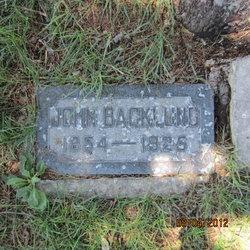 John Wilhelm Backlund