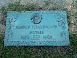 Minnie <I>Kaufman</I> Harrington