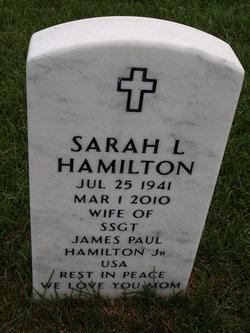 Sarah L. <I>McCormack</I> Hamilton