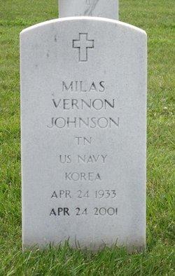 Milas Vernon Johnson