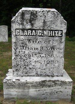 Clara Gertrude <I>White</I> Noyes