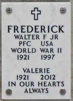 Walter Franklin Frederick, Jr