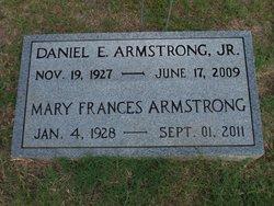 Mary Frances <I>Earp</I> Armstrong