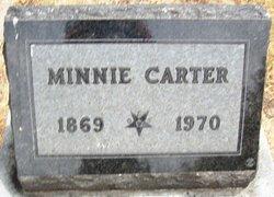 Minnie <I>Benham</I> Carter