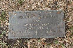 """John Franklin """"Johnny"""" Chappell"""