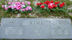 "Ada Catherine ""Kate"" <I>Melvin</I> Kime"