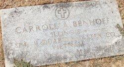 Carroll A Benhoff