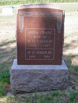 Anna Hansdatter <I>Wang</I> Daehlin