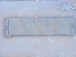 Fannie W Austin