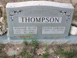 Johnnie Ruth <I>Patterson</I> Thompson