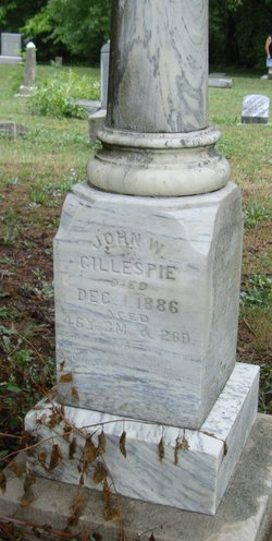 "John W ""Jack"" Gillespie"