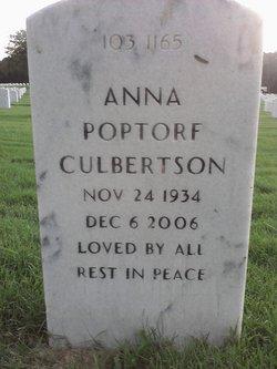 Anna <I>Poptorf</I> Culbertson