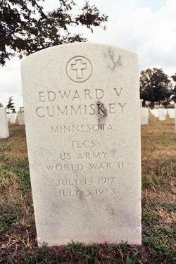 Edward V Cummiskey