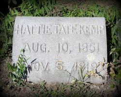 Hattie J <I>Tate</I> Kemp