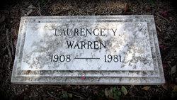 Laurence Y Warren
