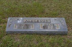 Ella Gertrude <I>Row</I> Alderson