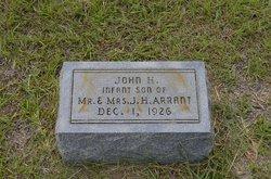 John O'Henry Arrant