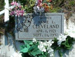 Annie L Cleveland