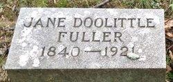 """Jane Elizabeth """"Jennie"""" <I>Doolittle</I> Fuller"""
