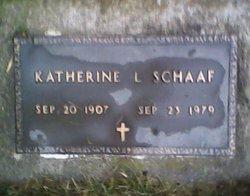 Katherine L. <I>Huelskamp</I> Schaaf