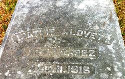 """Martha Jane """"Mattie"""" Lovett"""