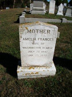 Amelia Frances <I>Patterson</I> Bearse