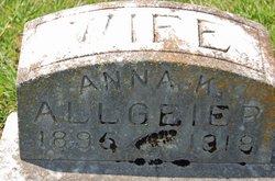 Anna K <I>Loos</I> Allgeier