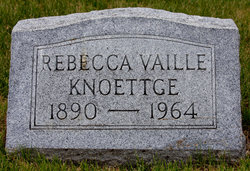 Rebecca <I>Vaille</I> Knoettge