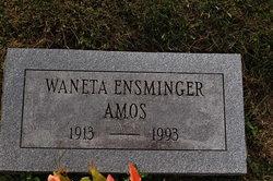 Waneta Ensminger Amos