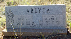 Irene <I>Montoya</I> Abeyta