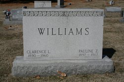 Clarence L Williams